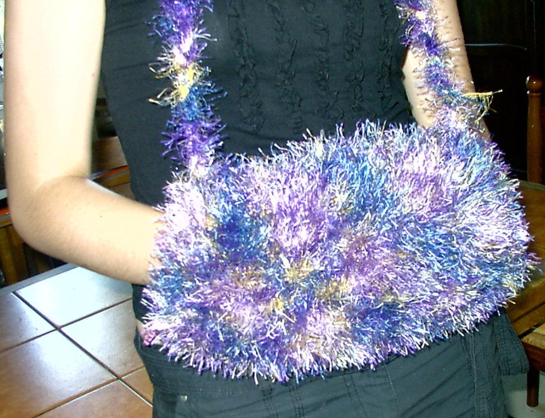 comment tricoter un manchon