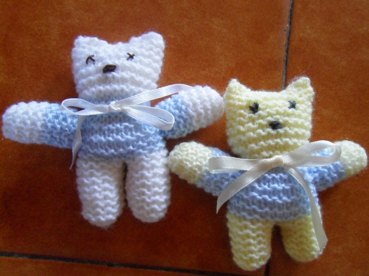 Petits nounours pour porte cl s activit s cr atives et tricot - Comment faire un porte clef ...