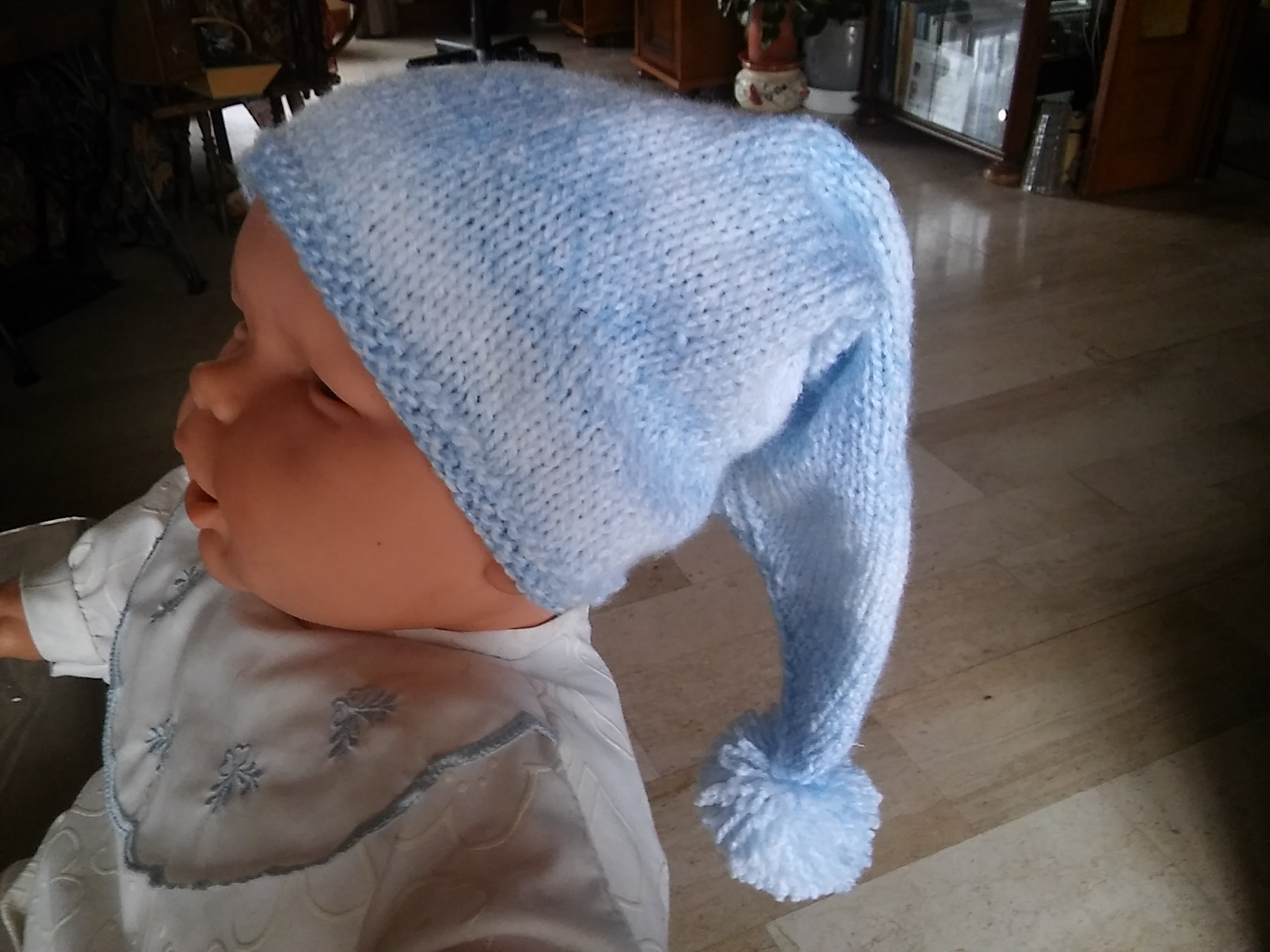Bonnet lutin taille 1 an