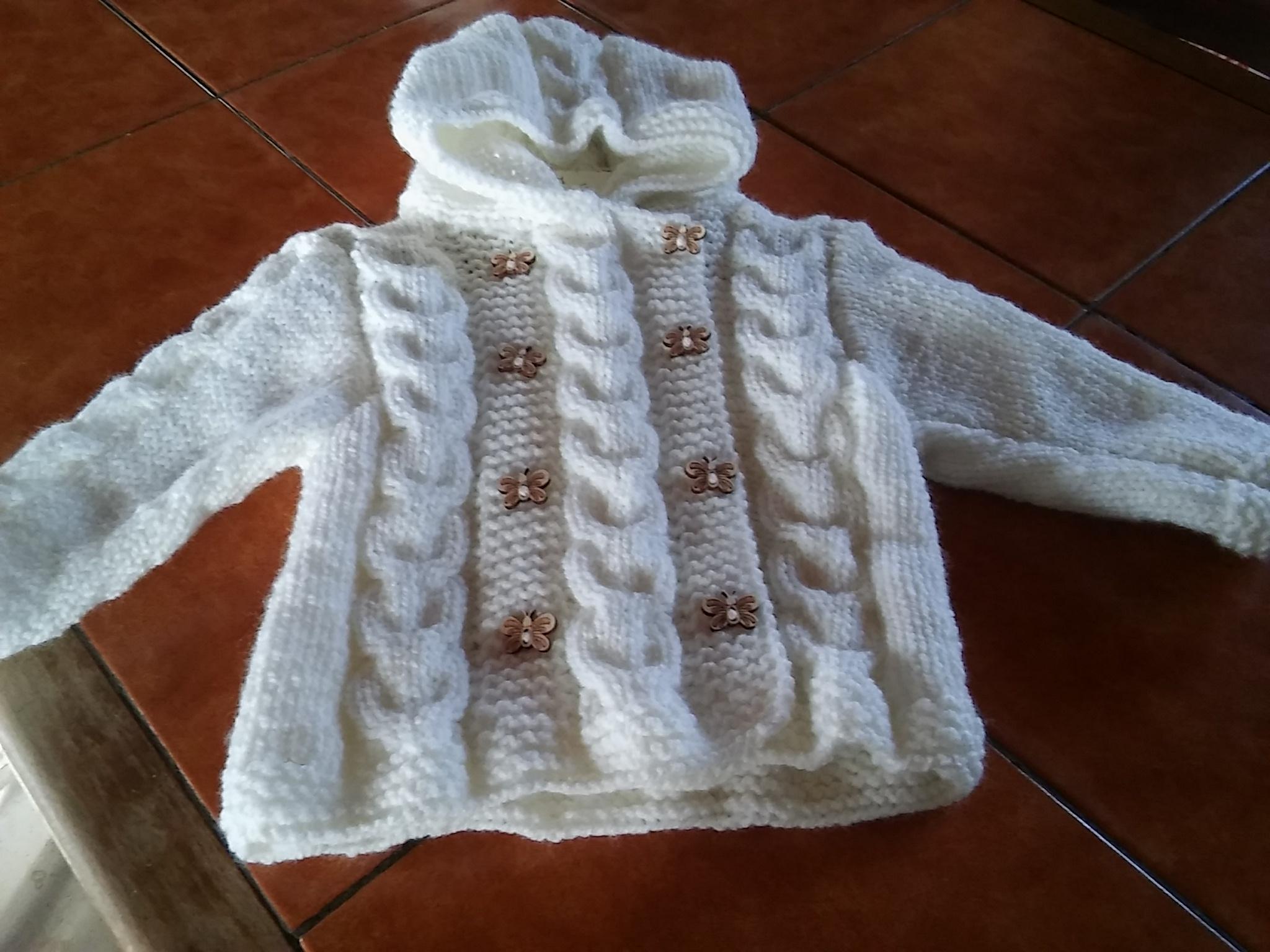Manteau à Capuche Taille Bébé 3 Mois Activités Créatives